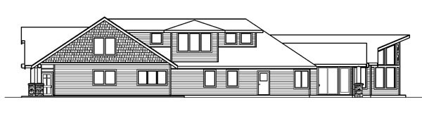 Craftsman, Southwest House Plan 59758 with 4 Beds, 5 Baths, 3 Car Garage Picture 2