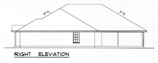 Country, Narrow Lot, Ranch, Traditional Multi-Family Plan 60816 with 4 Beds, 4 Baths, 4 Car Garage Picture 2