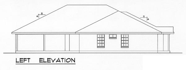 Country, Narrow Lot, Traditional Multi-Family Plan 60817 with 4 Beds, 4 Baths, 4 Car Garage Picture 1