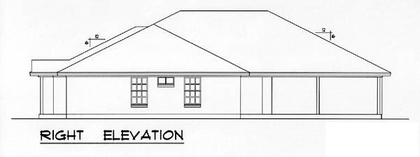 Country, Narrow Lot, Traditional Multi-Family Plan 60817 with 4 Beds, 4 Baths, 4 Car Garage Picture 2