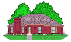 Plan Number 60829 - 1890 Square Feet