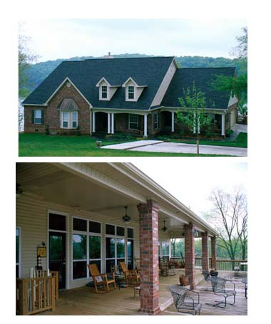 Country, Southern House Plan 61052 with 4 Beds, 4 Baths, 2 Car Garage Picture 1
