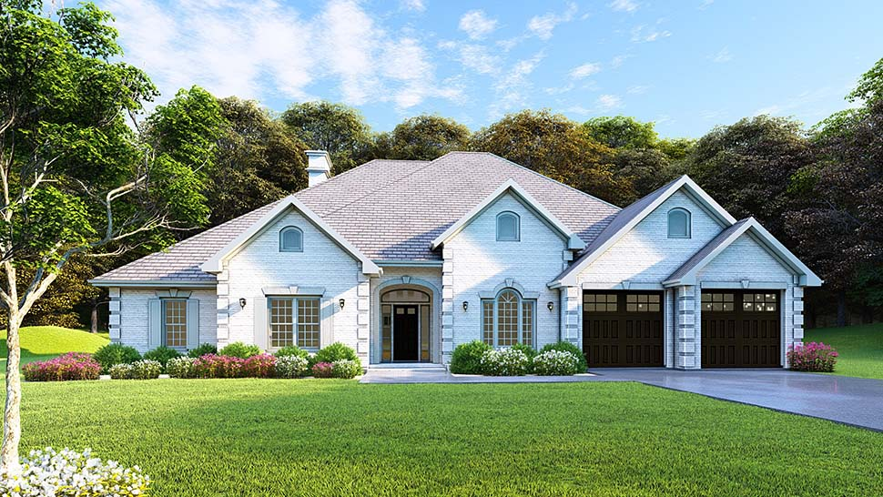 Traditional House Plan 61271 with 4 Beds, 3 Baths, 2 Car Garage Picture 13