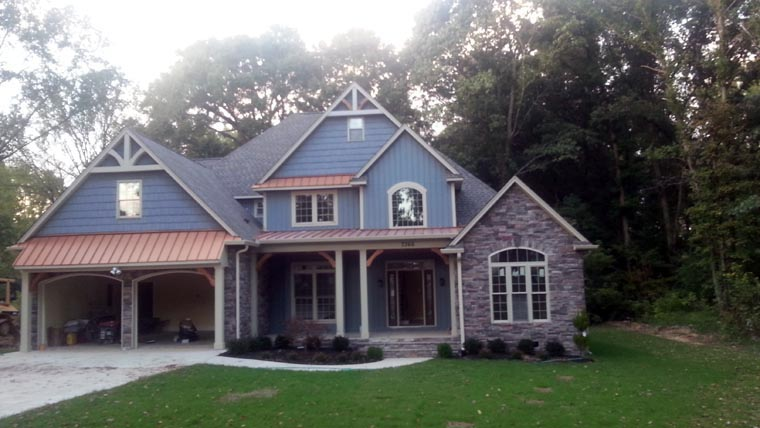 Craftsman, Traditional House Plan 61333 with 3 Beds, 3 Baths, 2 Car Garage Picture 9