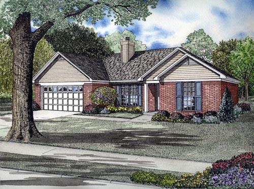 House Plan 61386
