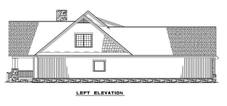 Craftsman House Plan 61395 with 4 Beds, 4 Baths, 2 Car Garage Picture 1
