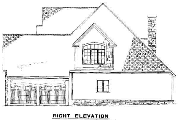 House Plan 61396 with 3 Beds, 3 Baths, 2 Car Garage Picture 2