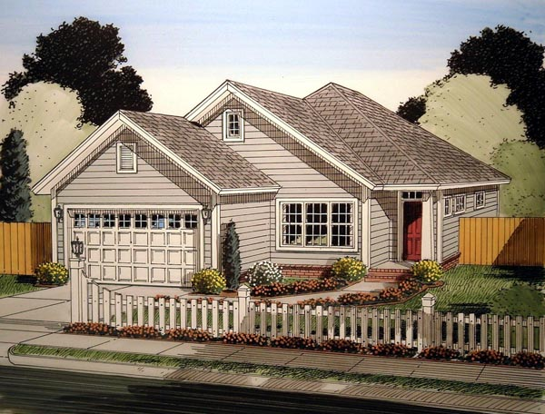 House Plan 61414