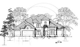 Plan Number 61894 - 4094 Square Feet
