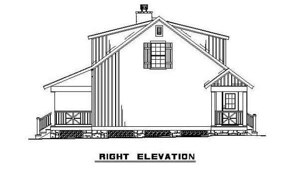 Bungalow, Cabin, Country, Southern House Plan 62131 with 3 Beds, 2 Baths Picture 11