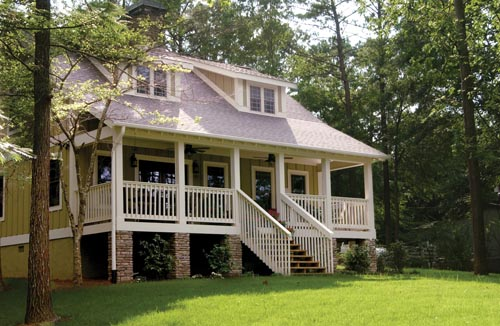 Bungalow, Cabin, Country, Southern House Plan 62131 with 3 Beds, 2 Baths Picture 6