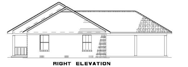 Country, Ranch House Plan 62386 with 3 Beds, 2 Baths Picture 2