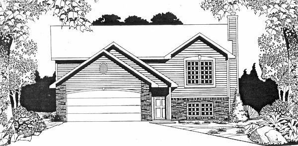 House Plan 62500