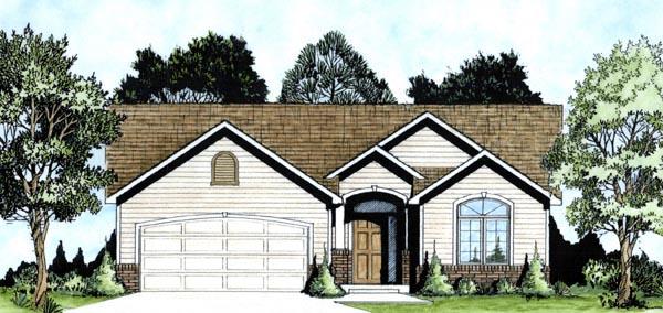 House Plan 62605