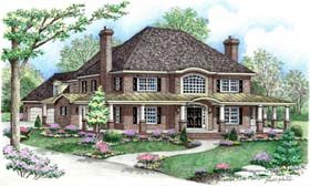 Plan Number 64414 - 3354 Square Feet