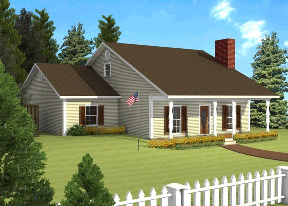 House Plan 64517