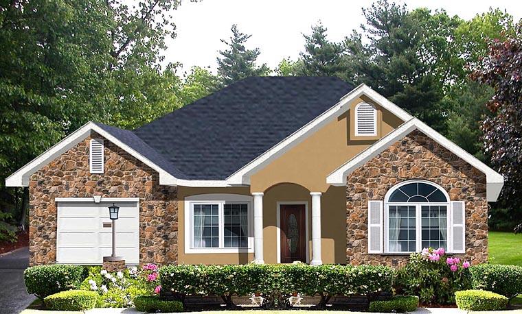 House Plan 64554
