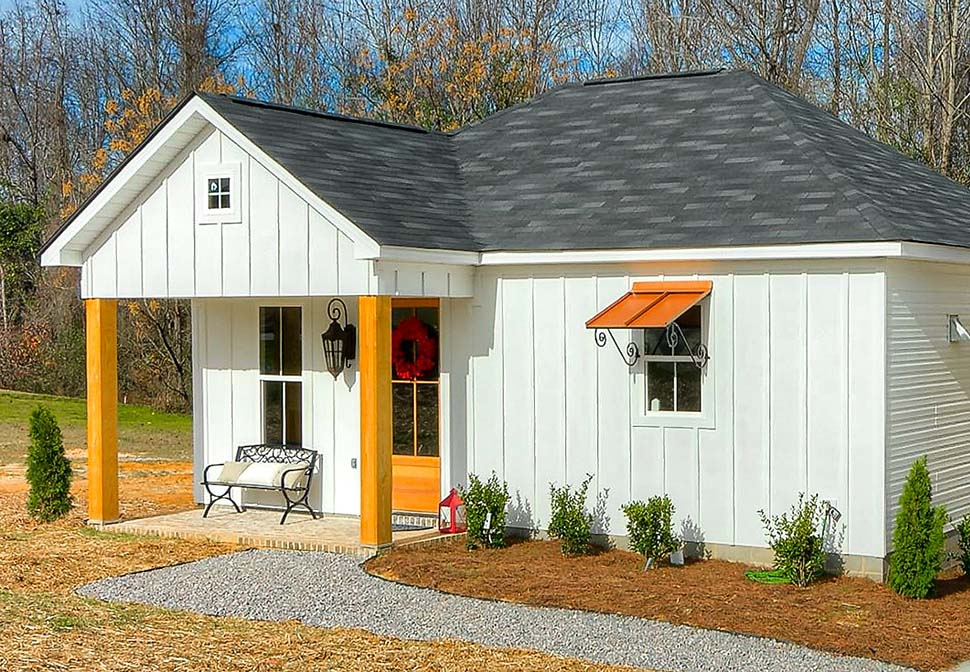 Cottage, Country, Traditional House Plan 64597 with 3 Beds, 2 Baths Picture 8