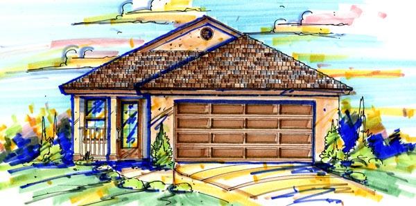 House Plan 64602