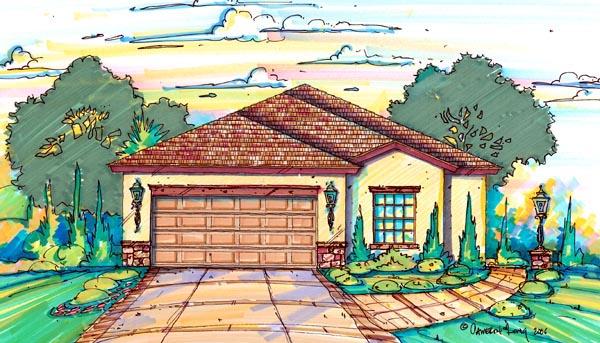 House Plan 64603