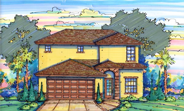 House Plan 64604