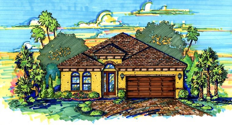 House Plan 64643