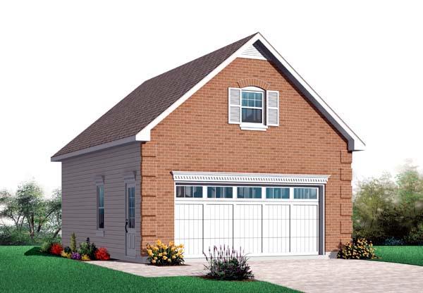 Garage Plan 64831