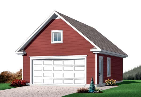 Garage Plan 64834