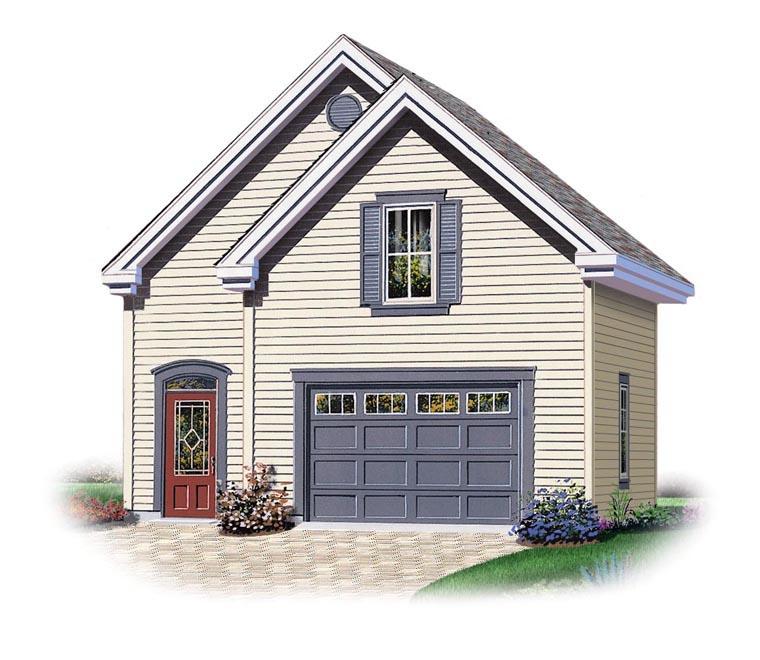 Garage Plan 64838