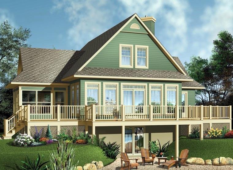 House Plan 65494