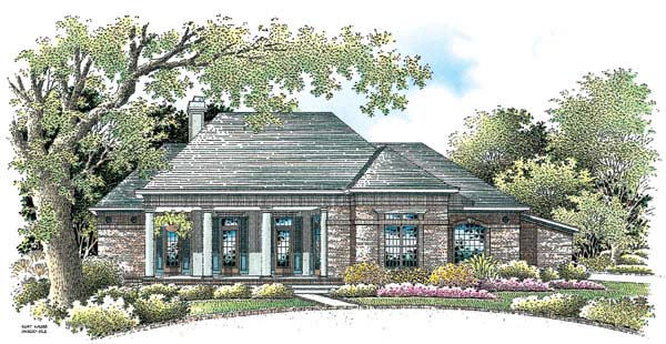 House Plan 65605