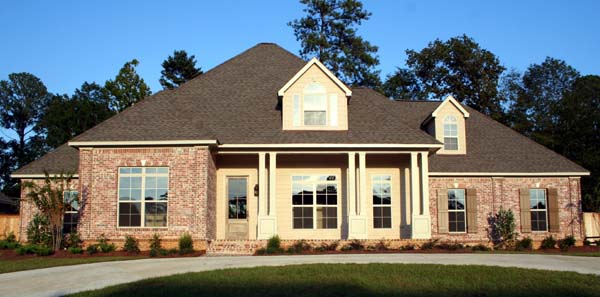 European, One-Story House Plan 65632 with 4 Beds, 4 Baths, 3 Car Garage Front Elevation