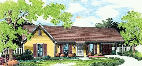 House Plan 65680