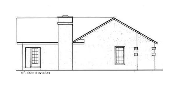 Florida, One-Story Multi-Family Plan 65708 with 4 Beds, 4 Baths Picture 1