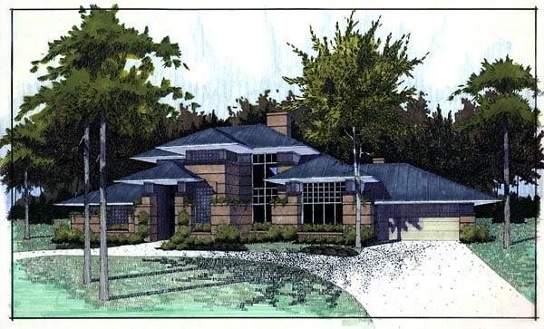 House Plan 65844