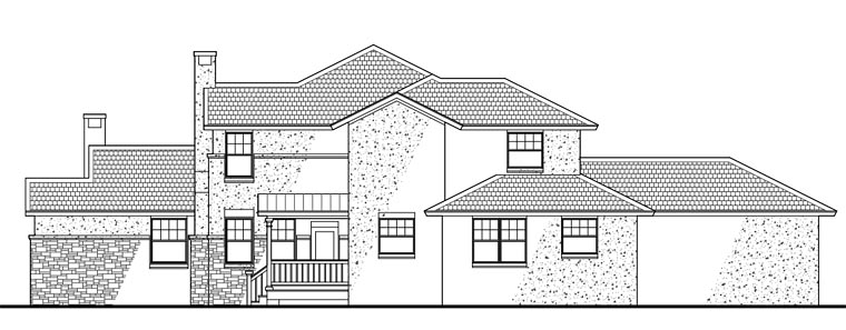 Southwest Multi-Family Plan 65865 with 6 Beds, 6 Baths, 4 Car Garage Picture 10