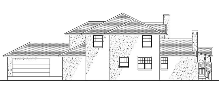 Southwest Multi-Family Plan 65865 with 6 Beds, 6 Baths, 4 Car Garage Picture 9