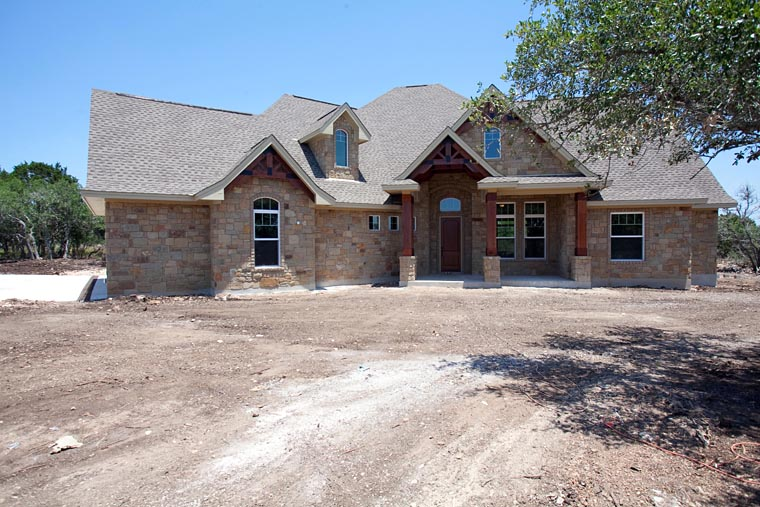 Cottage, Craftsman, Tuscan House Plan 65869 with 3 Beds, 3 Baths, 3 Car Garage Picture 18