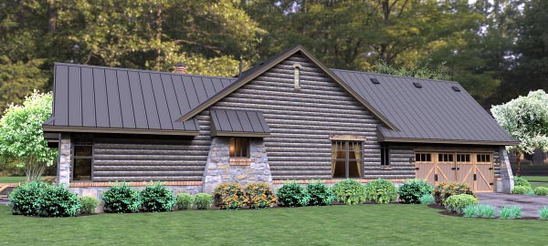 Cottage, Country, Tuscan House Plan 65874 with 3 Beds, 3 Baths, 2 Car Garage Picture 4