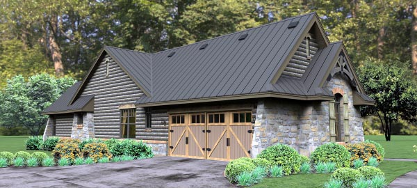 Cottage, Country, Tuscan House Plan 65874 with 3 Beds, 3 Baths, 2 Car Garage Picture 5