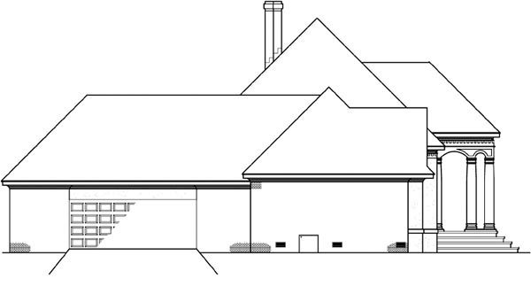 House Plan 65946 with 4 Beds, 4 Baths, 2 Car Garage Picture 1