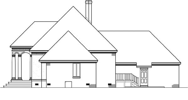 House Plan 65946 with 4 Beds, 4 Baths, 2 Car Garage Picture 2