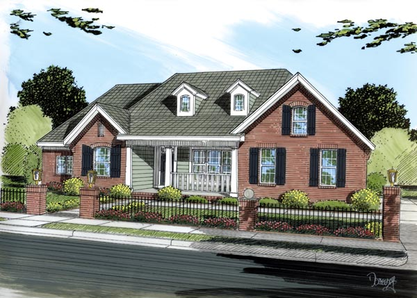 House Plan 66453