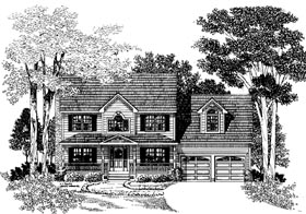 Plan Number 67252 - 1875 Square Feet
