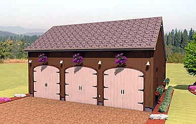 Garage Plan 67284
