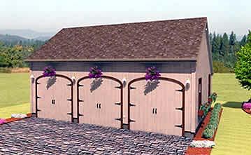 Garage Plan 67293