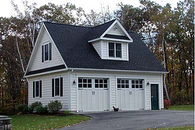 2 Car Garage Plan 67301 Elevation