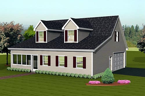 3 Car Garage Apartment Plan 67307 Elevation