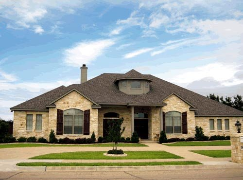 Traditional House Plan 67420 with 4 Beds, 4 Baths, 3 Car Garage Elevation