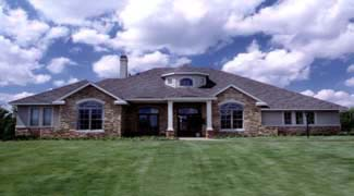 Traditional House Plan 67420 with 4 Beds, 4 Baths, 3 Car Garage Picture 3